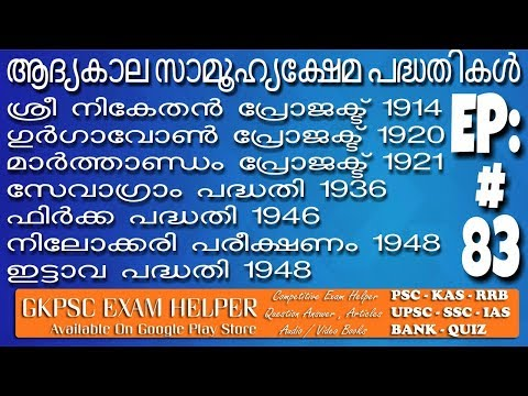 Social Welfare Schemes Programme Previous Question Answer Kerala  PSC Coaching Class Malayalam#83