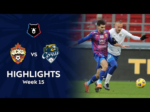 CSKA Moscow Sochi Goals And Highlights