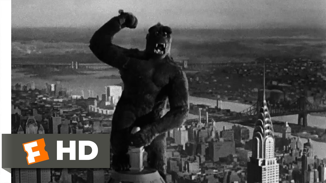 King Kong 1933 Climbing The Empire State Building Scene 9 10 Movieclips