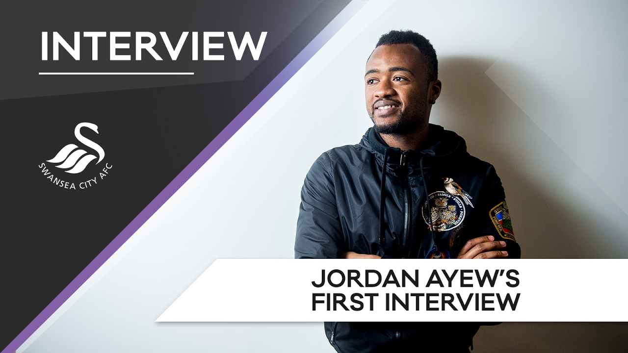 swans tv ayew s first interview swans tv ayew s first interview