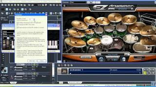 SONAR8.5  como tocar INSTRUMENTO VST no sonar com teclado do pc