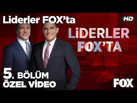 Vatan Partisi Cumhurbaşkanı Adayı Doğu Perinçek Soruları Yanıtlıyor... Liderler FOX'ta 5. Bölüm