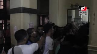 ازدحام في الإسكندرية لشراء تذاكر مبارة «الزمالك والواداد» بـ«النظام الجديد»