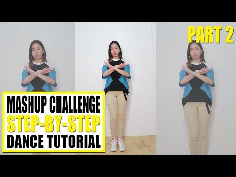 MASHUP CHALLENGE Dance Tutorial (Step-by-step) Part 2/3 | Rosa Leonero