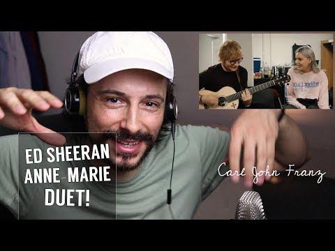 Vocal Coach REACTION | Anne-Marie & Ed Sheeran - 2002