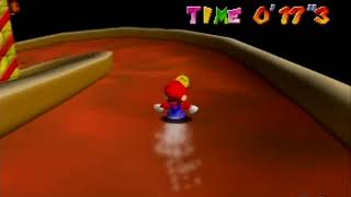 Super Mario 64 - Castle Secret Star, Princess's Secret Slide