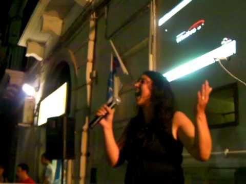 karaoke san domenico mola di bari in adagio e viola di adriano celentano.MP4