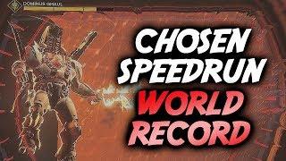 """Ghaul Boss Fight """"Chosen"""" Speedrun World Record! [6:06]"""