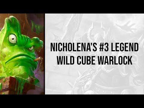 Nicholena's #3 Legend Wild Cube Warlock | Rastakhan's Rumble | Wild Hearthstone