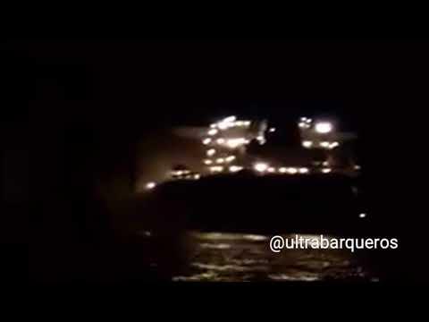 COLLISION - Bulk Carrier OCEAN TREASURE - 6th. TERMINAL -GENERAL SAN MARTÌN HARBOUR #SanLorenzo #ARG