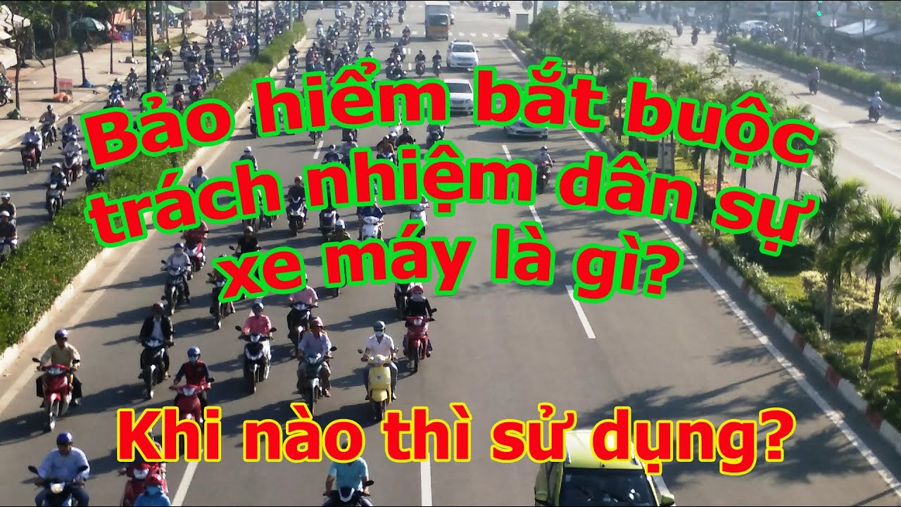 Bảo hiểm bắt buộc trách nhiệm dân sự xe máy là gì? Tại sao bắt buộc phải mua?