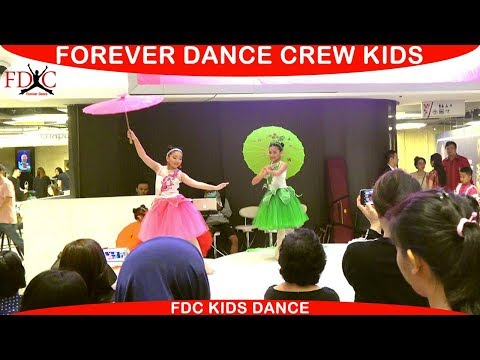 UMBRELLA DANCE CHINESE DANCE INDONESIA - FOREVER DANCE CREW KIDS