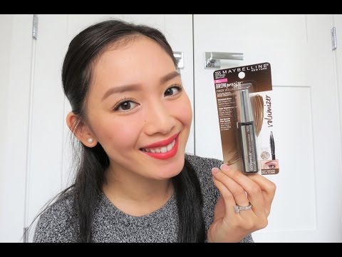 2c81c91eafe MAYBELLINE BROW PRECISE FIBER VOLUMIZER REVIEW! - DafyneMeBella - YouTube