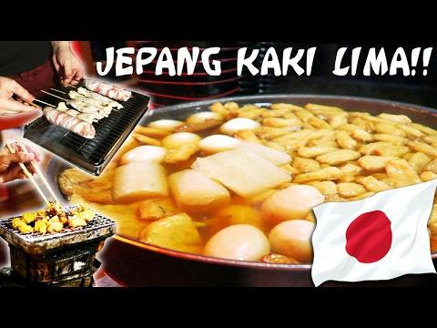 Makanan Jepang Pinggir Jalan Enak di Jakarta !!! ft Ren Reiki