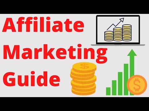 Affiliate Marketing Guide [Geld verdienen im Internet]💸