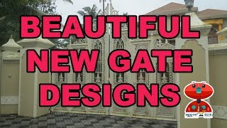 The Best NEW GATE DESIGNS | Simple And Verity Gate models | Creative Designs |