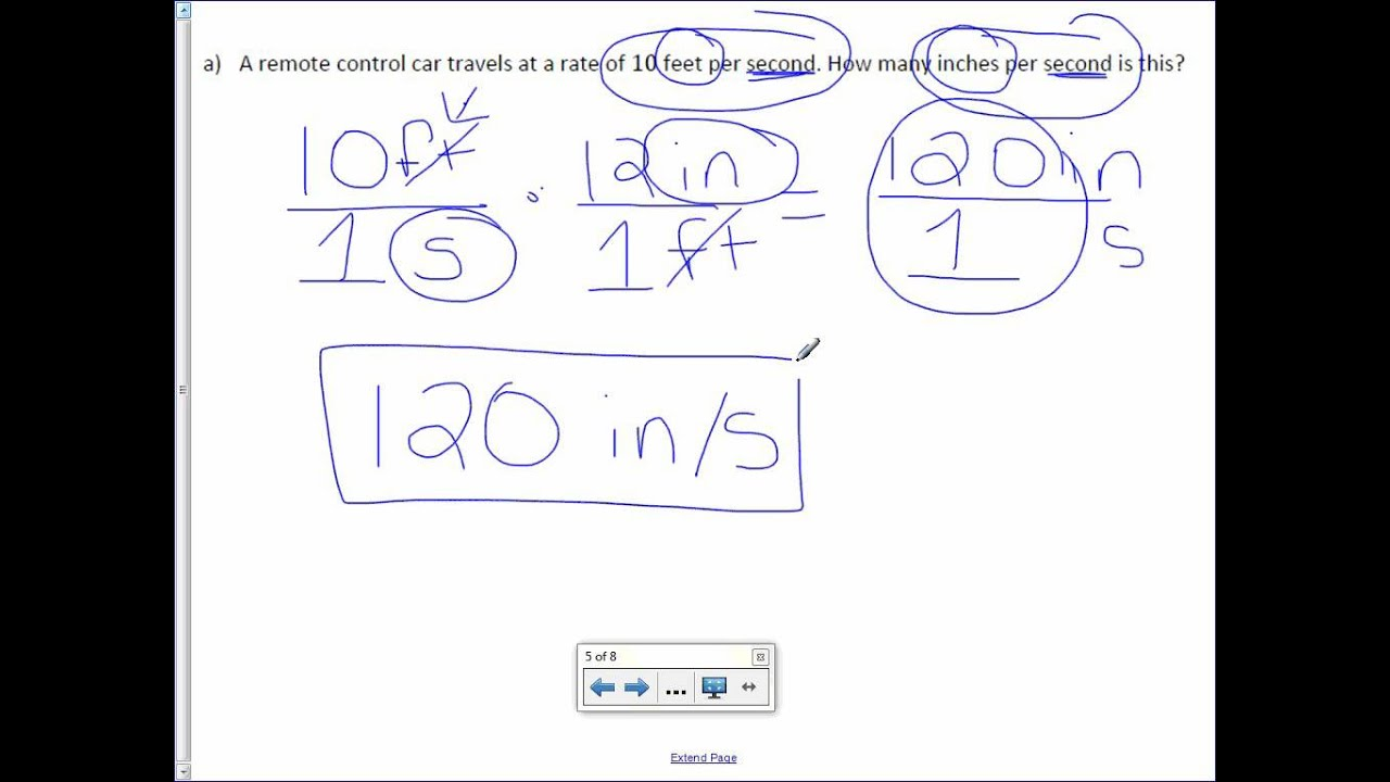 hight resolution of 7th Grade 1-3: Convert Unit Rates - YouTube