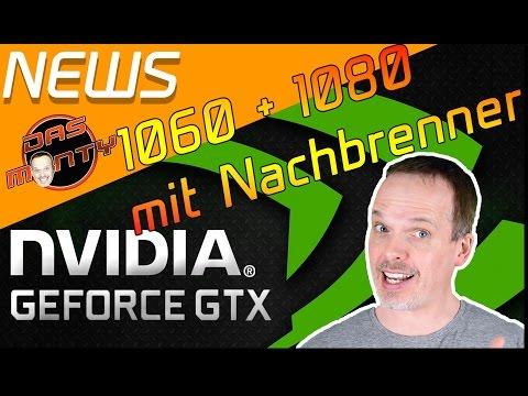NVIDIA GTX 1060/1080 WERDEN SCHNELLER | Montys Lieblingsspiele | Das Monty - Deutsch