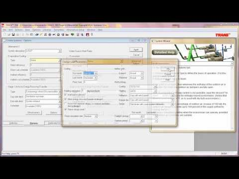 Modeling Dedicated Outdoor Air Systems In Trace 700 Youtube
