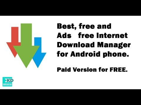 Best Download Manager For Android Phones And Ads Free With Proof (ADM Pro Apk) 2017