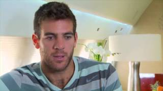 Juan Martin del Potro Spreads His Wings