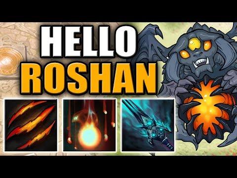 Fury Swipes + Fervor + Curse of Avernus [Hello Roshan - Perfect Build] Dota 2 Ability Draft
