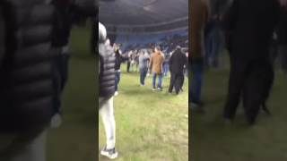 Coventry city pitch invasion vs Wycombe
