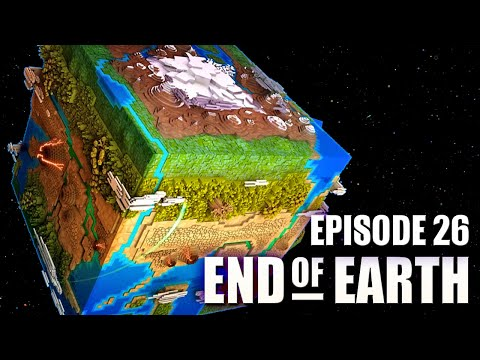 End of Earth | Minecraft Modded Survival Ep 26 | UNLIMITED ENERGY!!! (Steve's Galaxy Modpack)