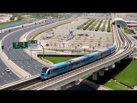 Dubai Metro | MRT SA DUBAI SYSTEM NO DRIVER ON BOARD