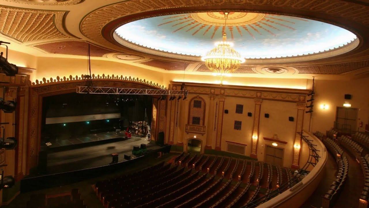 Count Basie Theatre Renovation Time Lapse Full Video