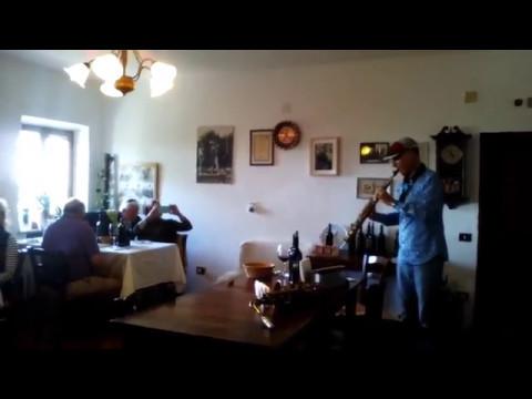 Degustazione con musica dal vivo in agriturismo Poggio al vento Castiglione d'Orcia