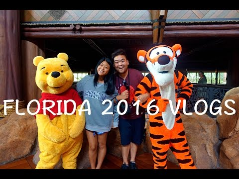 FLORIDA ORLANDO 2016 TRAVEL VLOGS (Trailer)