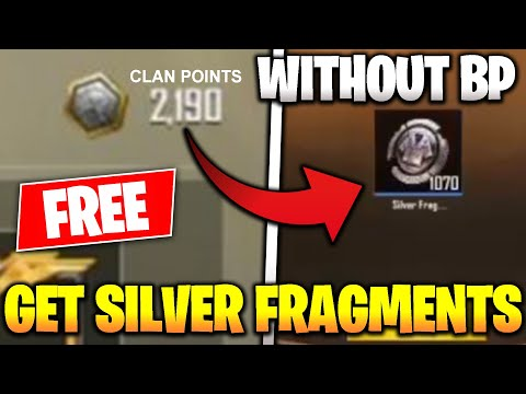 GET FREE SILVER FRAGMENTS WITHOUT BP In PUBG MOBILE! Convert Clan Points Into Silver Fragments