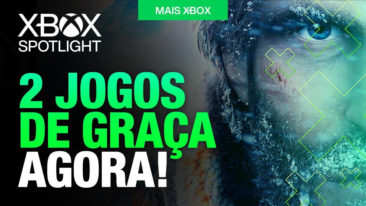 BAIXE JÁ! JOGOS LIBERADOS DE GRAÇA no XBOX ONE, XBOX SERIES X   S e 360 para GOLD ou ULTIMATE!