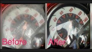 Cara Mudah Hilangkan Retak-Retak Di Speedometer Kendaraan