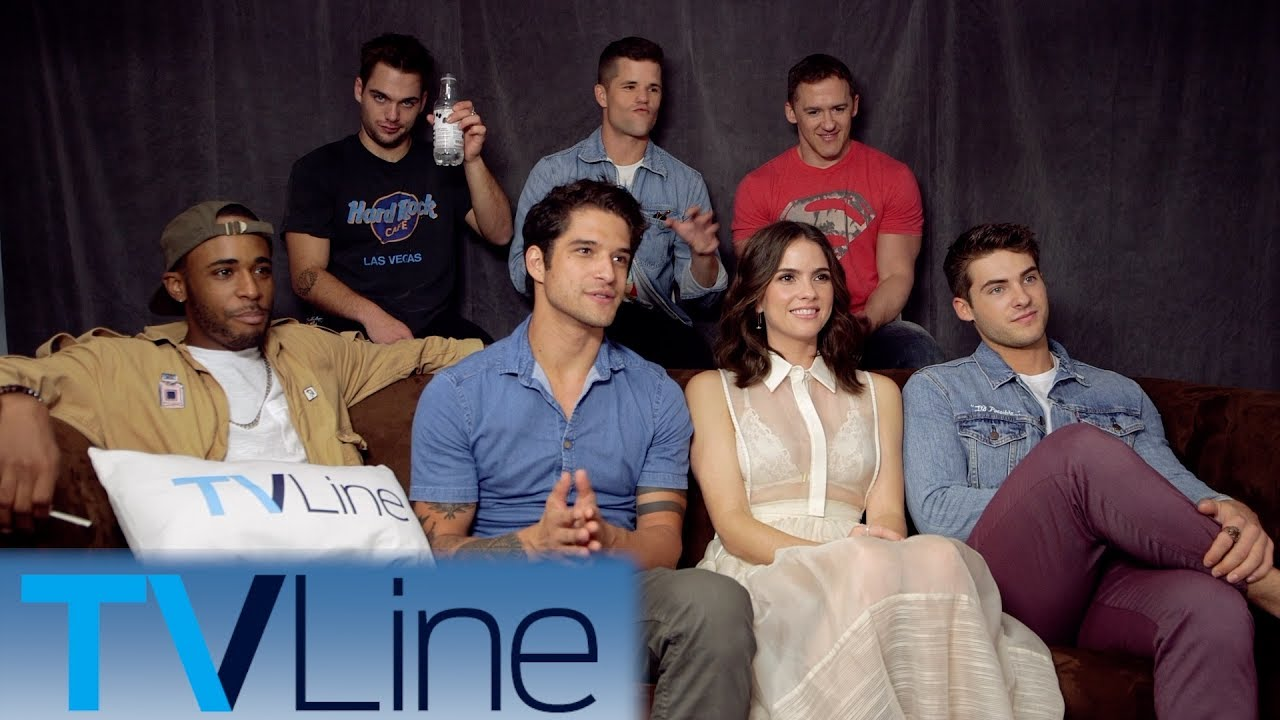 Teen Wolf Interview  ComicCon 2017  TVLine  YouTube