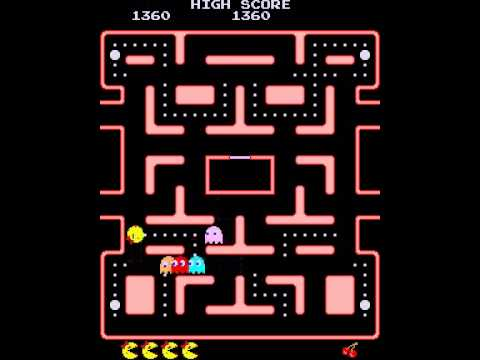 Ms. Pac-Man Safe Spots/holds