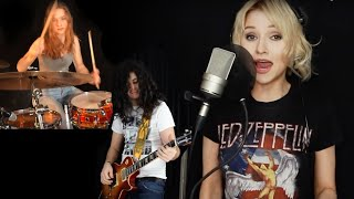 Black Dog (Led Zeppelin) - Alyona, Sina and Andrei cover
