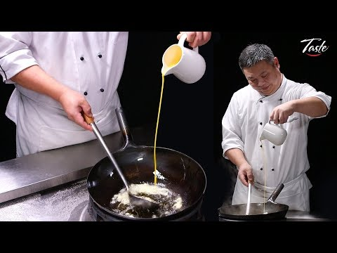 How to Make Perfect Egg that Looks like Silk by MasterChef • Chinese Cooking with Tips