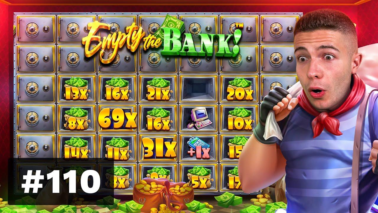SUPER BONUS on Faces of Freya & Empty the Bank PAYING - AyeZee Stream Highlights #110