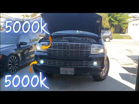 07 Lincoln Navigator Aftermarket 5000k HID Kit- HID Headlights And HID Foglights - EBAY HID KIT