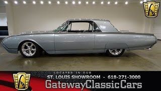 1962 Ford Thunderbird Stock #7022 Gateway Classic Cars St. Louis Showroom