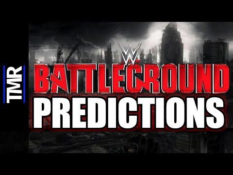 WWE Battleground Predictions - Simon Miller's Pro-Wrestling Podcast