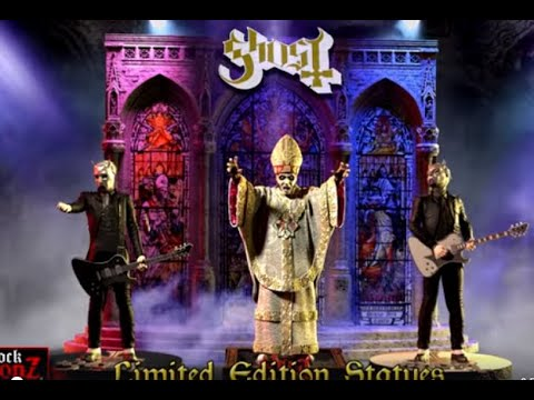 Ghost release new statues of Papa Nihil and two Nameless Ghouls ..!