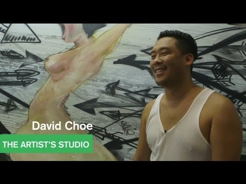 David Choe  - Artists Talk with Alia Shawkat and Lance Bangs - The Artist's Studio - MOCAtv
