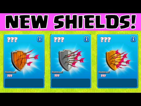 Clash Of Clans NEW SHIELDS ★ COC TOWN HALL 11 2015 WINTER UPDATE SNEAK PEEK ★