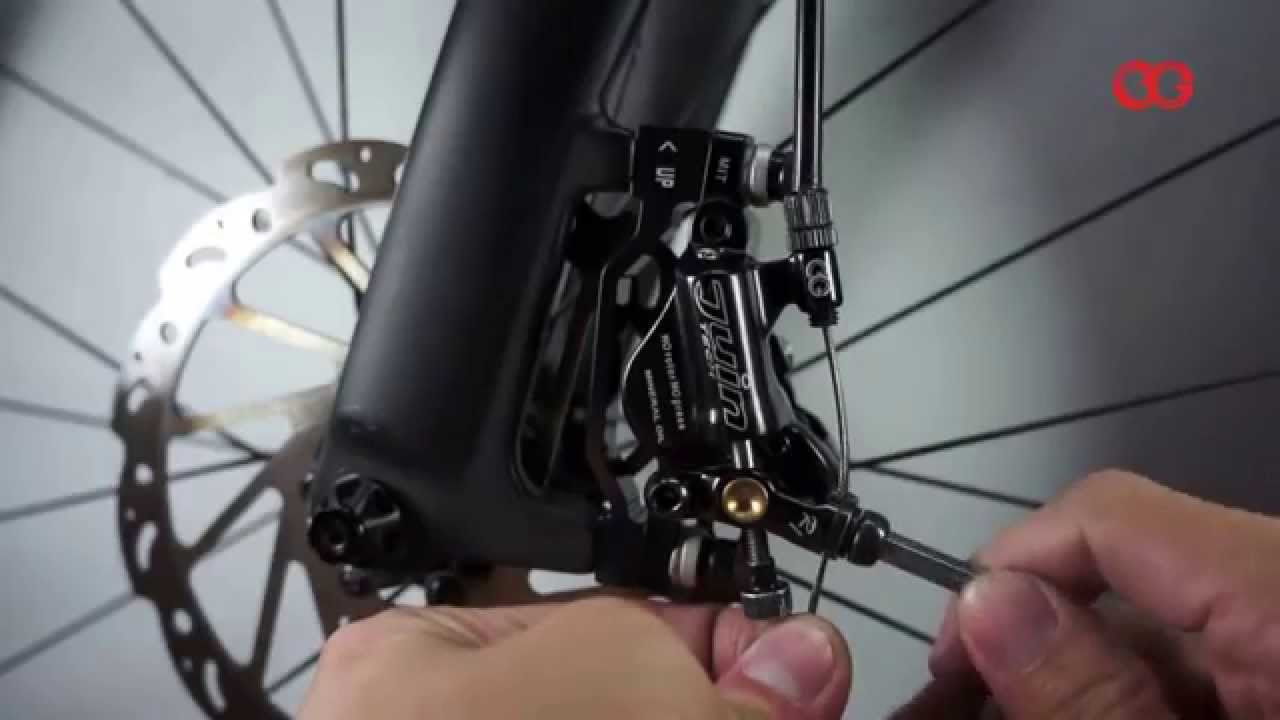 DIA-COMPE Juin TECH R1 Hydraulic Disc Brake Set Black /& Red
