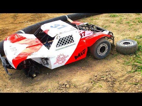 HUGE NEW 1/5 Scale Track! GAS POWER Racing (Losi 4x4 - PT 1) Blackfoot Motor Sports | RC ADVENTURES