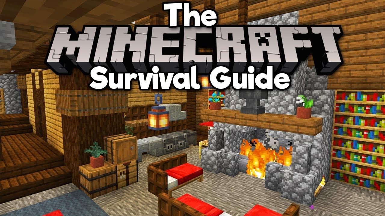 Modern House Interior Design! ▫ The Minecraft Survival Guide [Part 215]