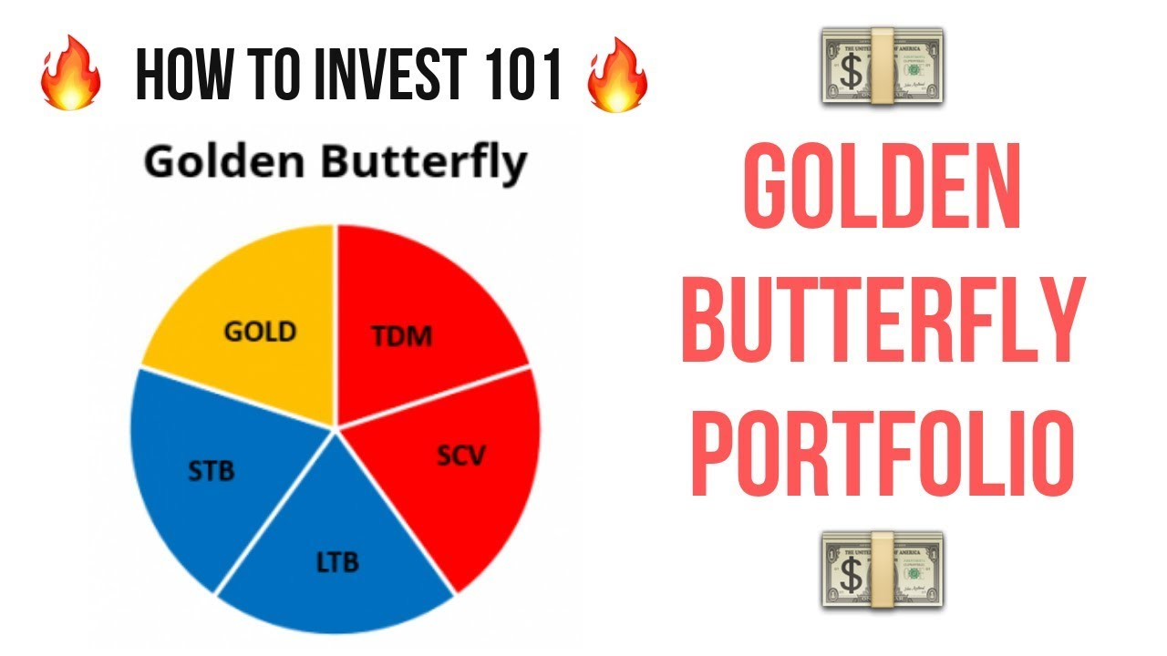 GOLDEN BUTTERFLY RATIO 💰ULTIMATE INVESTING PORTFOLIO💰How To Invest 101